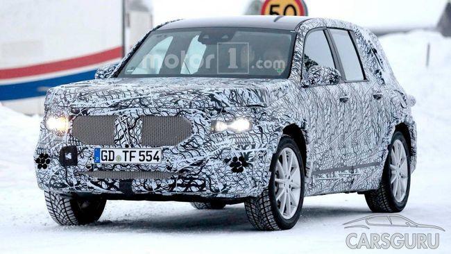 Mercedes-AMG GLB выйдет в свет у удлиненной колесной базой