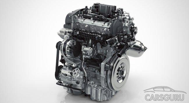 Volvo представил свой первый мотор с тремя цилиндрами