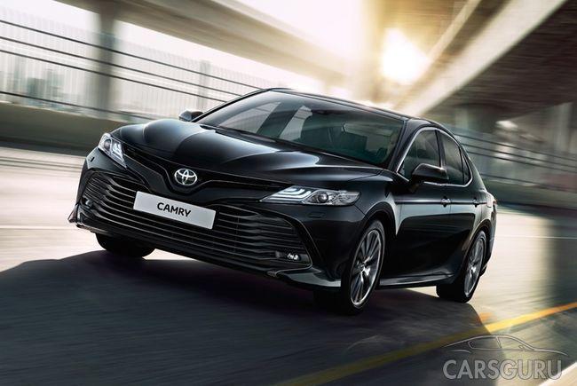 Toyota Camry для России