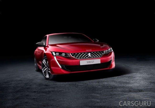 Стало известно, как будет выглядеть новый Peugeot 508
