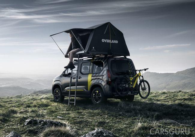Фургон Peugeot Rifter – для тех, кто любит активный отдых