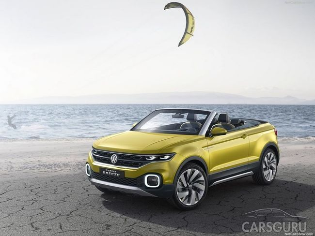 Volkswagen выпустит новый кабриолет на платформе T-Roc