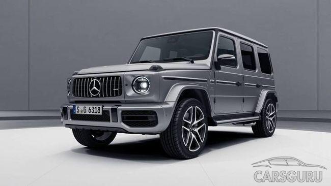 «Заряженный» Mercedes-AMG G63 теперь имеет и «ночной» пакет