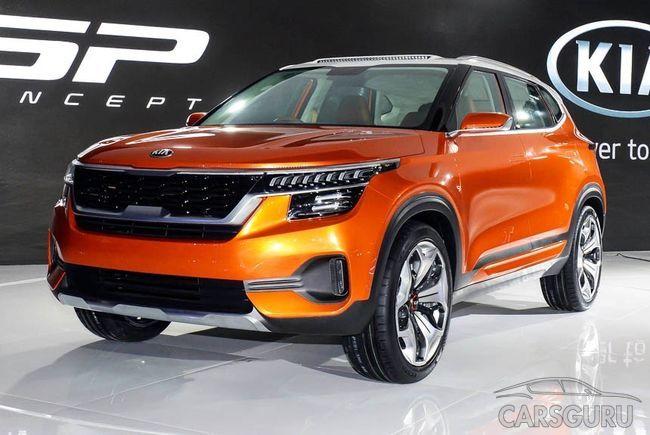 Показали кроссовер KIA SP Concept. Новый конкурент Hyundai Creta