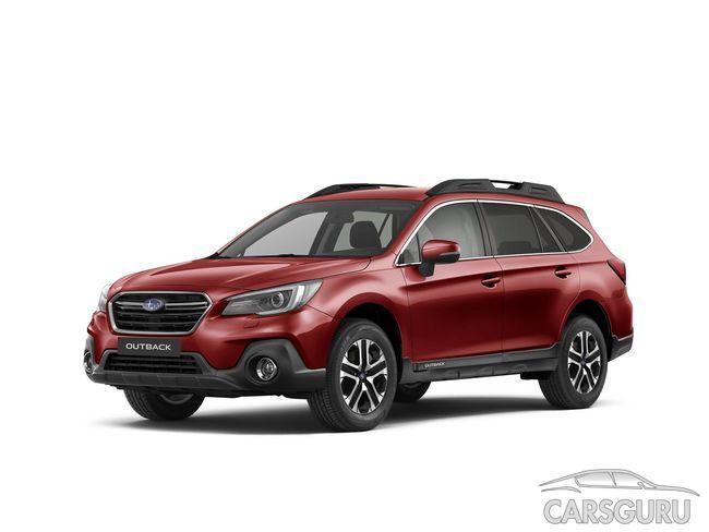 Subaru Outback 2018 МГ: рублевые цены. Фото
