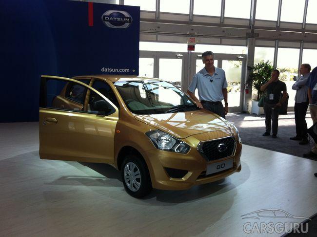 Datsun Go в России будет стоить не более 400 000 рублей