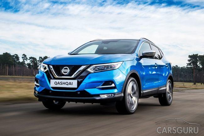 В России начнут выпуск обновленных Nissan Qashqai и X-Trail