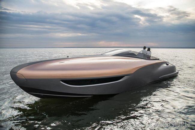 Lexus намерен выпускать серийные роскошные яхты. Фото