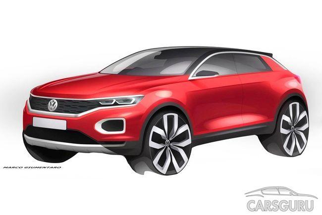 В России появится «народный» кроссовер Volkswagen
