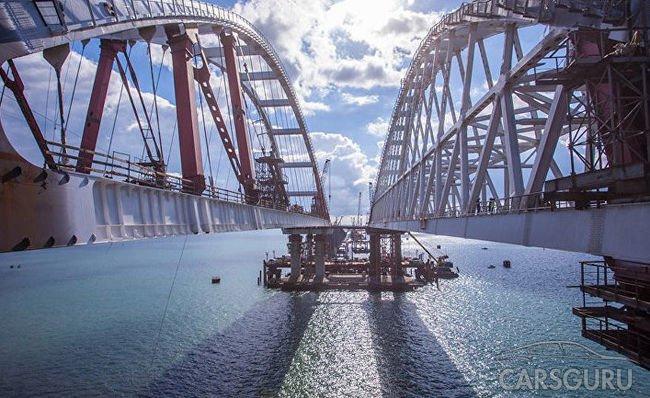 Уже летом россияне смогут проехать в Крым по новому мосту