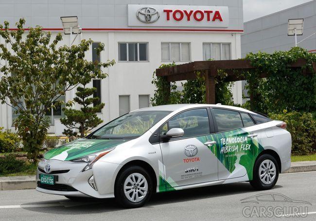 Toyota Prius будет функционировать на спирту