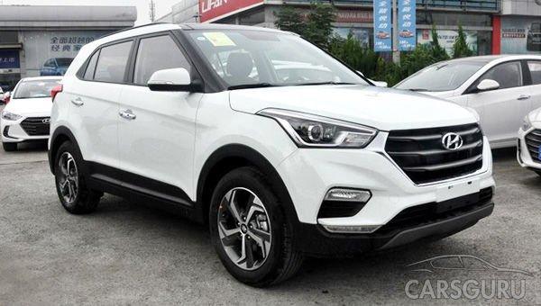 Hyundai Creta станет двухцветным и получит люк. Фото