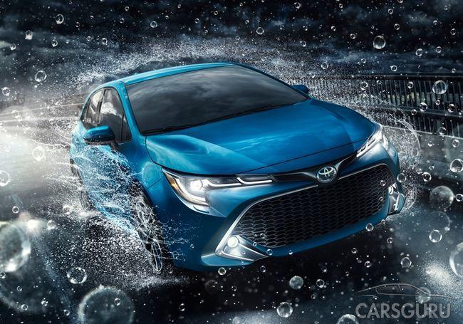 «Неудержимая» Toyota Corolla с вариатором и новой платформой