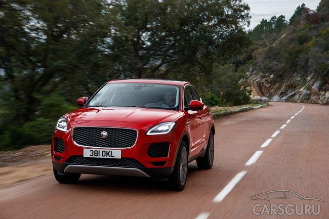 Самый доступный кроссовер Jaguar добрался до нашего рынка