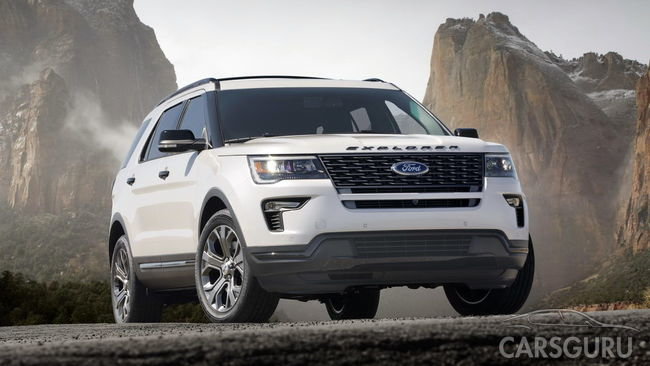 Стала известна дата старта продаж обновленного Ford Explorer
