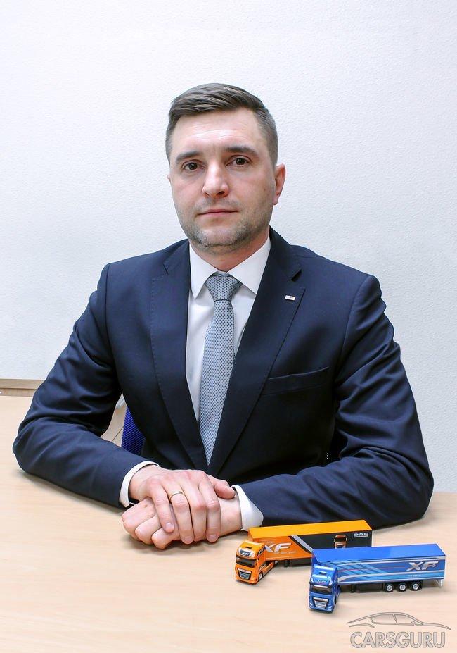 VH объявила о назначении нового директора по продажам грузовых автомобилей DAF