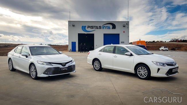 Чего ждать от новой Toyota Camry?
