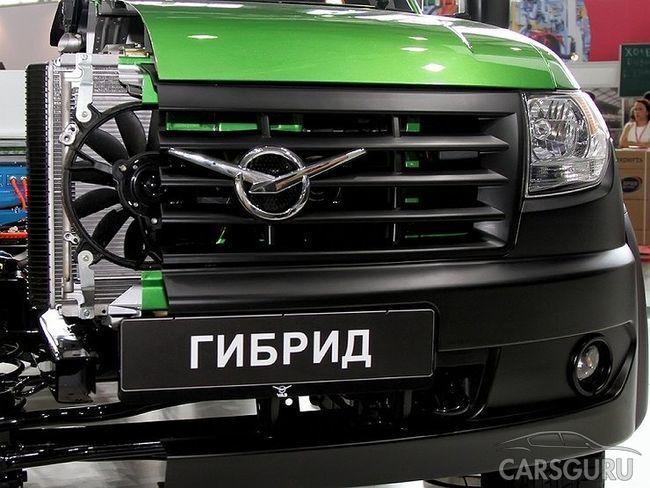 УАЗ планирует выпустить гибридный автомобиль, скорее всего кроссовер