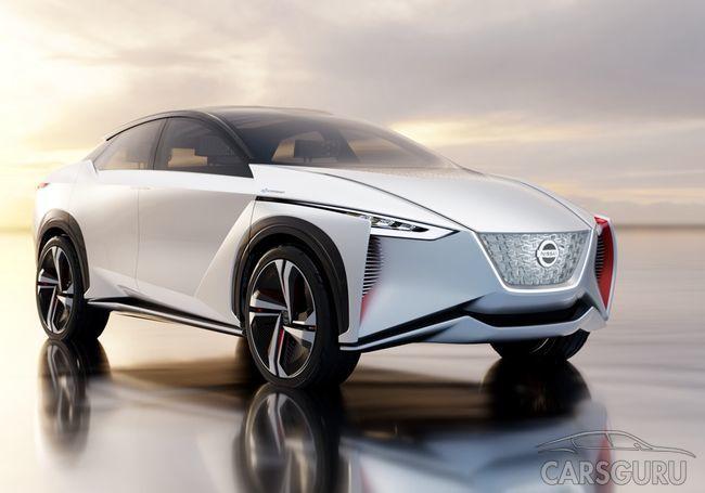 Nissan разрабатывает серийный «прорывной» электрический кроссовер