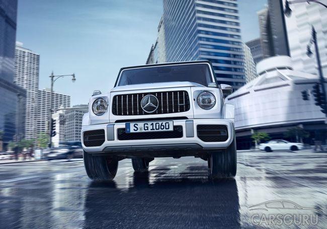 Стала известна стоимость Mercedes-AMG G 63 для России