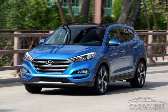 Новые моторы кроссовера Hyundai Tucson