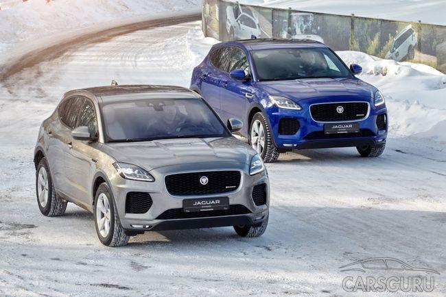 Новый Jaguar E-PACE на тестах