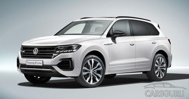 Volkswagen Touareg для России. Первые подробности