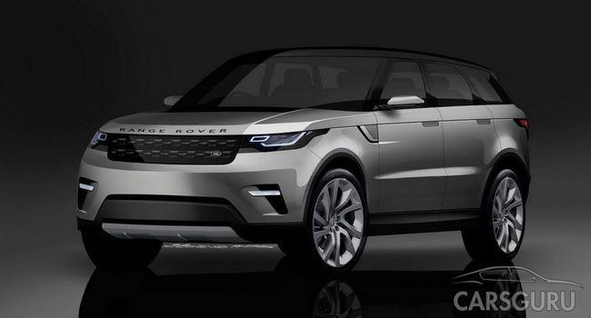 Новый Range Rover Evoque. Скоро