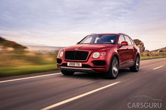 Премьера новой модели Bentley Bentayga V8. Скоро