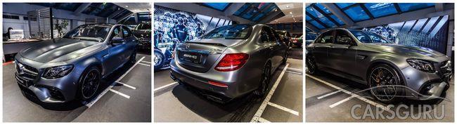 Mercedes-AMG E 63S – шедевр интеллекта в АВИЛОН на Воздвиженке