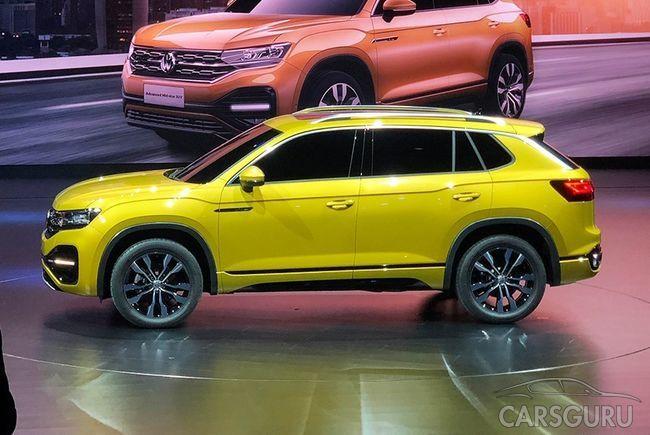 Volkswagen представил четыре новые модели. Есть доступный кроссовер для России