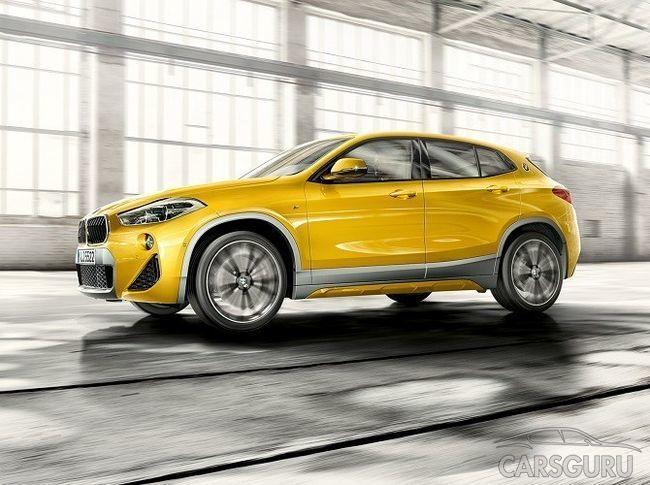 Кроссовер BMW X2 представлен в новых комплектациях