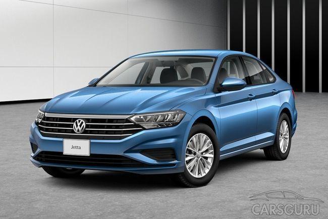 Начались продажи Volkswagen Jetta нового поколения