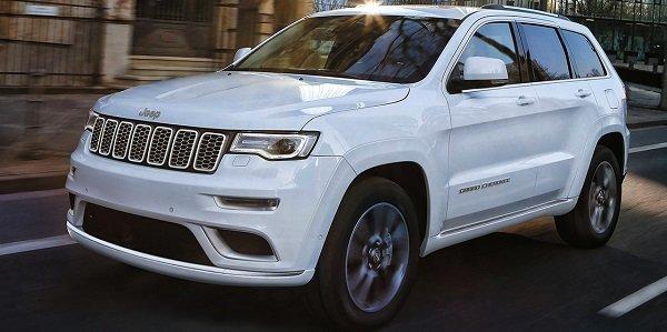 Jeep Grand Cherokee 2018 года.