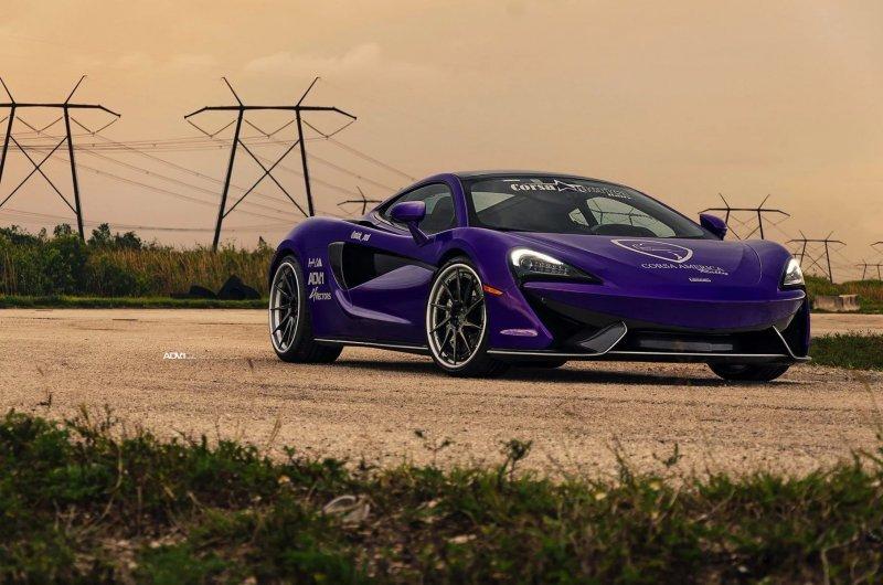 McLaren 570GT в тюнинге Heat Auto Motoring