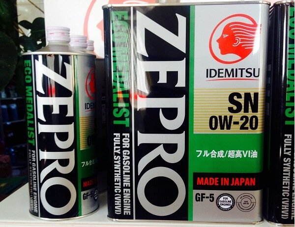 Моторные масла повышенной экологичности Idemitsu Zepro Eco Medalist.
