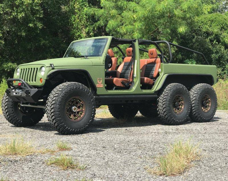 Jeep Wrangler JK 6×6 в исполнении Bruiser Conversions