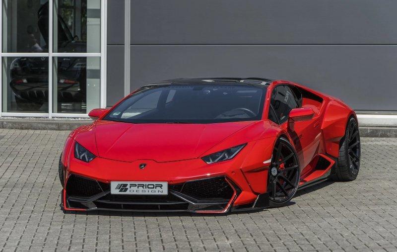 Lamborghini Huracan в обвесе от Prior Design