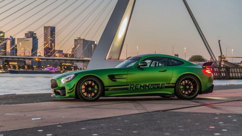 Mercedes-AMG GT R от Renntech — самый быстрый Mercedes на Нюрбургринге