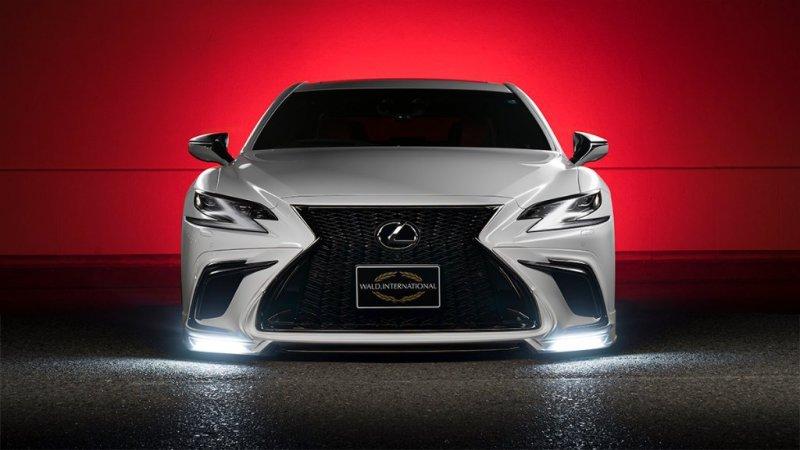 Wald International кастомизировали новую линейку Lexus LS