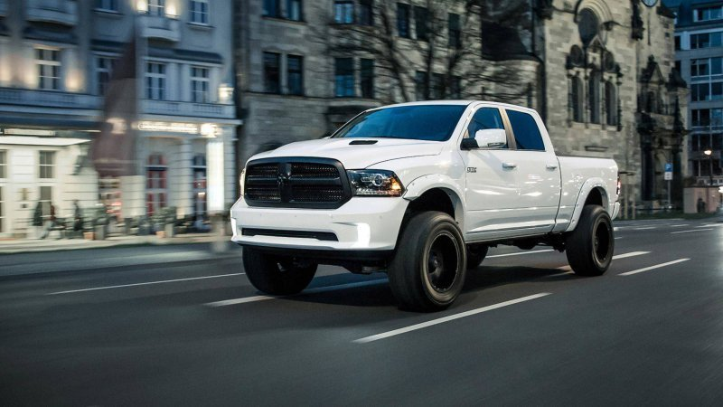 Ram 1500 Bigfoot Edition в исполнении German Motors & Engineering