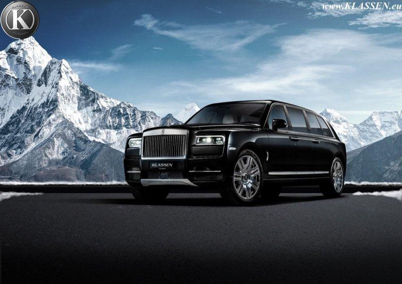 Rolls-Royce Cullinan за 2 млн от мастеров Klassen