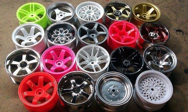 Как покрасить диски автомобиля самостоятельно.