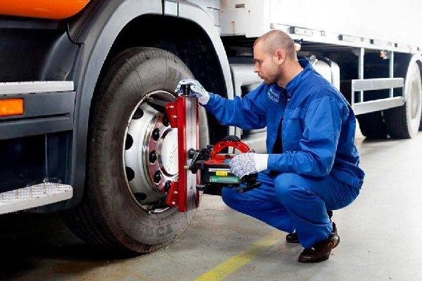 Содержание грузовых машин: восстановление покрышек.
