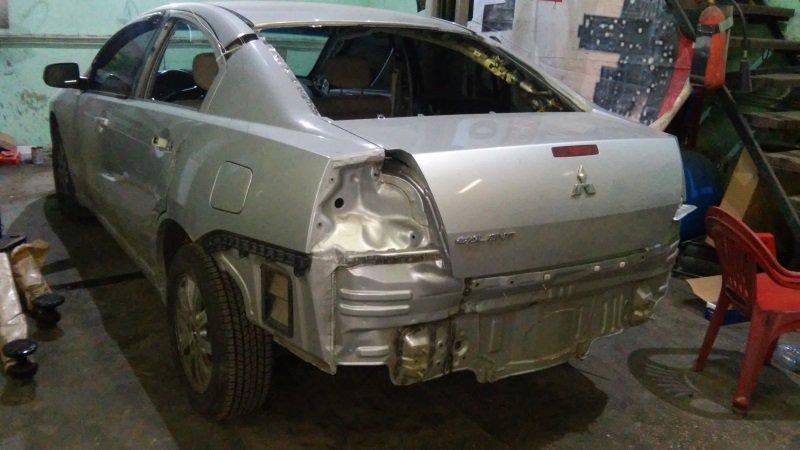 Как отремонтировать кузов автомобиля?