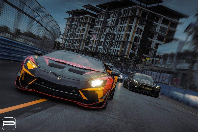 Lamborghini Aventador в гоночном амплуа от Infinite Motorsports