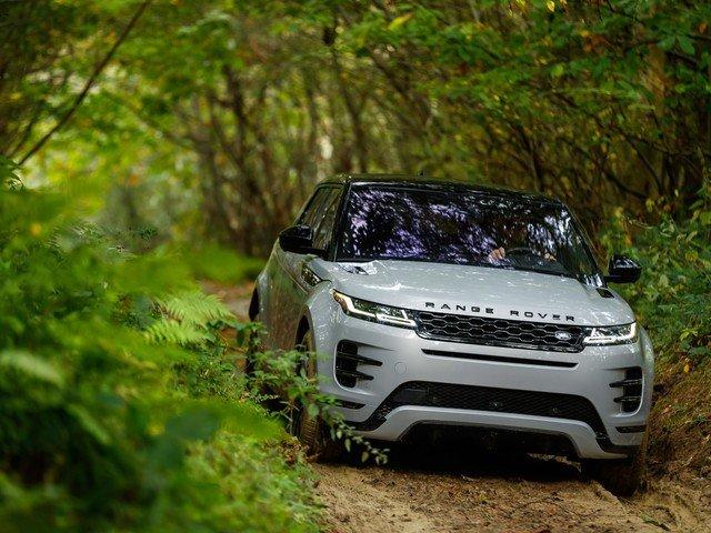 Обзор Land Rover Range Rover Evoque 2019 года.