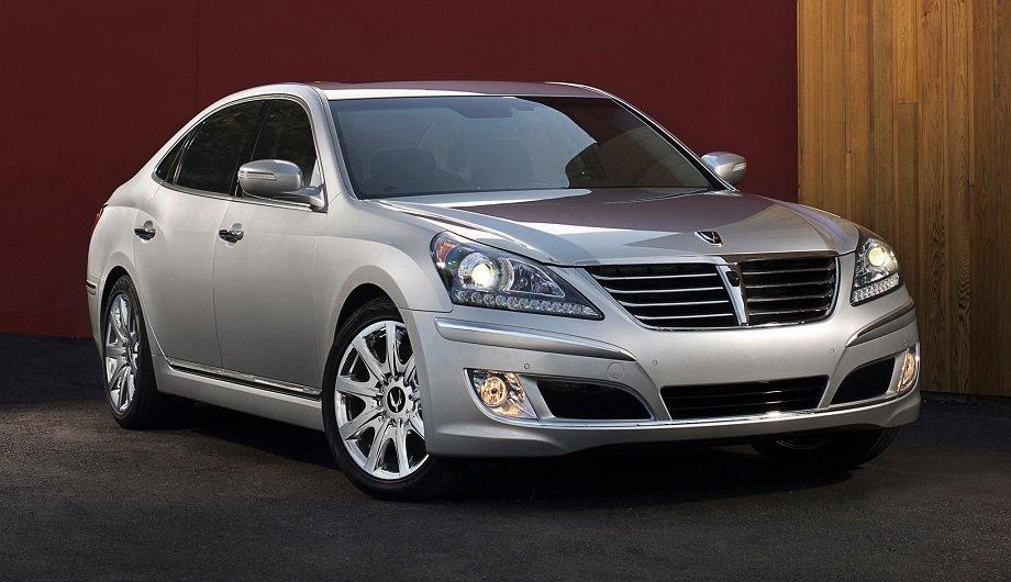 Hyundai Equus или Kia Quoris - сравнительный анализ.