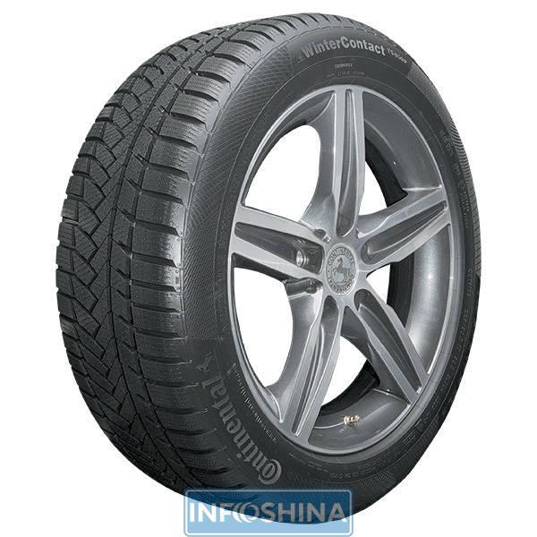Об особенностях характеристик шин Continental ContiWinterContact TS 850P.