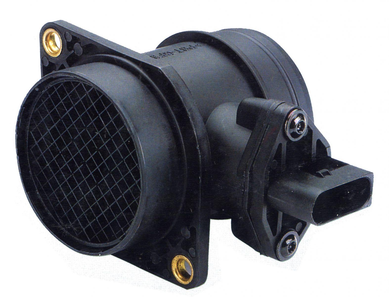 Расходомер воздуха, или ДМРВ (датчик массового расхода воздуха).